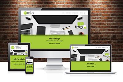 Criação de Sites Institucionais - Relev Tecnologia